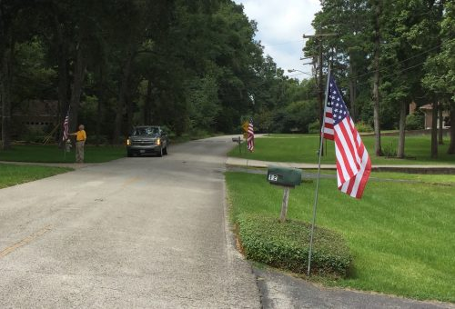 flagposting